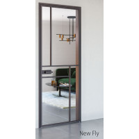 Межкомнатные алюминиевые двери Aludoors New Fly