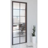 Межкомнатные алюминиевые двери Aludoors Quadro