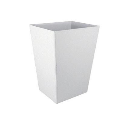 Корзина для бумаг белая Colombo Black & White B9202