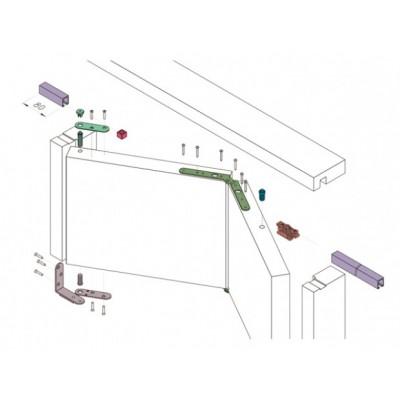 Складывающаяся система двери-книжка Koblenz 0200/50
