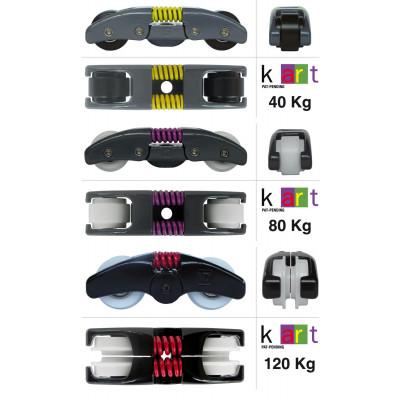 Раздвижная система для дверей Koblenz K Art 40/80/120