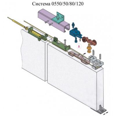 Раздвижная система Koblenz 0550/G400E