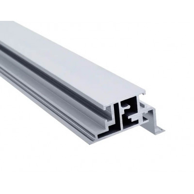 Короб скрытого монтажа анодированный алюминий Zero